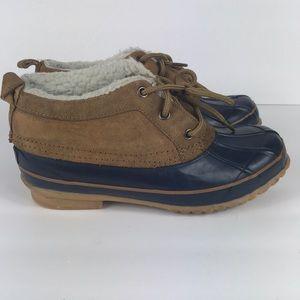 Khombu rain boots size 7